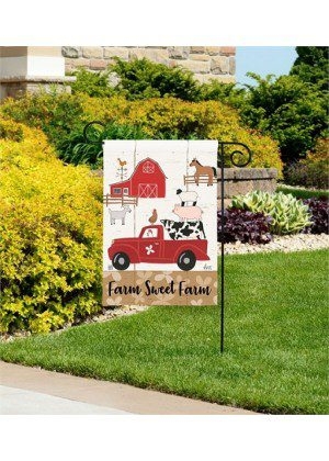 Country Roads Garden Flag | Decorative Flags | Garden House Flags