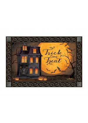 Dark Manor Doormat | Halloween Doormats | MatMates | Doormats