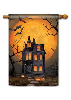 Dark Manor Flag | Decorative Flags | House Flags | Garden House Flags