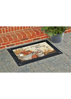 Farmhouse Pumpkins Doormat | Doormat | MatMate | Garden Decor