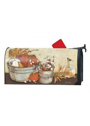 Farmhouse Pumpkins Mailbox Cover | Mailwraps | Mailbox Covers
