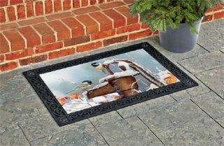 Frozen Pump Doormat | MatMates | Doormats | Garden House Flags