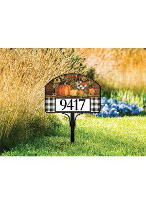 Harvest Gathering Yard Sign | Address Plaques | Yard Signs