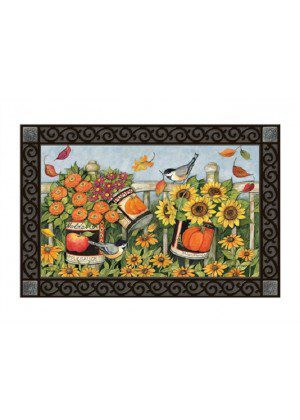 Left for the Birds Doormat | Doormats | MatMates | Decorative Doormats
