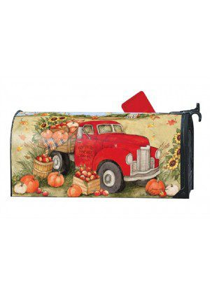 Pumpkin Delivery Mailbox Cover | Decorative Mailwraps | Mailbox Covers