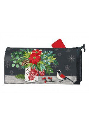 Scandi Mittens Mailbox Cover | Mailwraps | Christmas Mailbox Covers