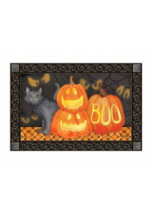 Who's There Doormat | Doormats | MatMates | Halloween Doormats