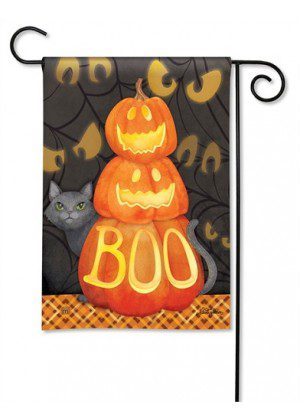 Who's There Garden Flag | Halloween Flags | Holiday Flags | Fall Flags