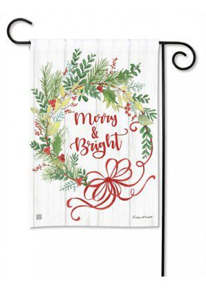 Winterberry Garden Flag | Christmas Flags | Holiday Flags | Yard Flags