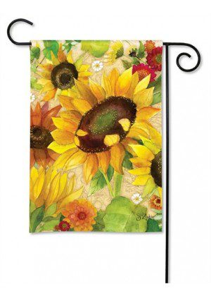 Yellow Sunflower Garden Flag | Fall Flags | Floral Flags | Yard Flags | Flag