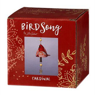 Cardinal Ceramic Bell | Bells | Decorative Bells | Garden House Flags