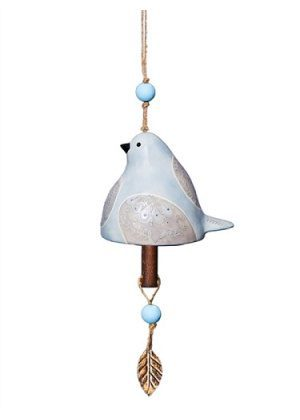 Dove Ceramic Bell | Garden Bells | Decorative Bells | Garden House Flags