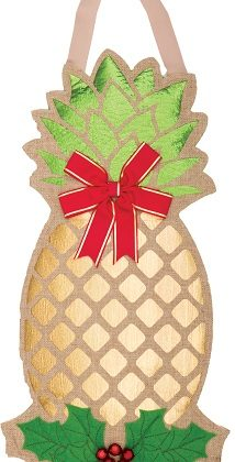 Golden Pineapple Door Decor | Door Hanger | Door Decor | FABRICreation