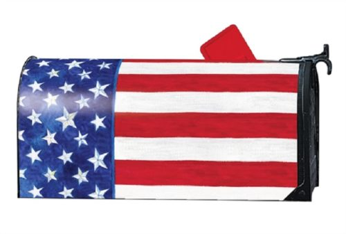 Stars and Stripes Forever Mailbox Cover | Mailwrap | Garden House Flags