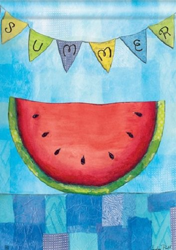 Summer Slice Flag | Decorative Flags | House Flags | Garden House Flags