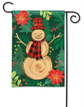 Woody Garden Flag | Christmas Flags | Snowman Flags | Winter Flags
