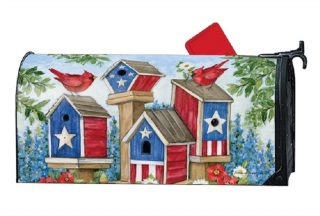 All-American Birdhouses Mailbox Cover | Mailbox Covers | Mailwraps