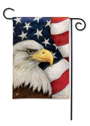 American Eagle Garden Flag | Patriotic Flags | 4th of July Flags | Cool Flag