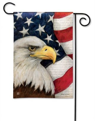 American Eagle Garden Flag   Patriotic Flags   4th of July Flags   Cool Flag