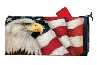 American Eagle Mailbox Cover | Mailbox Covers | Decorative Mailwraps