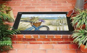 Beach Bike Doormat | Decorative Doormats | Doormats | MatMates