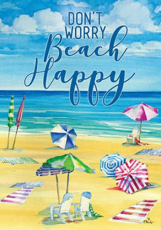 Beach Happy Flag | Summer Flags | Cool Flags | Inspirational Flags | Flags