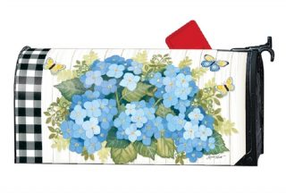 Black & White Wellies Mailbox Cover | Mailbox Covers | Mailwraps