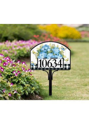 Black & White Wellies Yard Sign | Yard Signs | Address Plaques | Yard Sign
