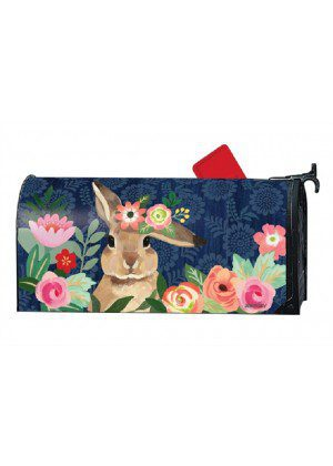 Bunny Bliss Mailbox Cover | Decorative Mailwraps | Mailbox Covers
