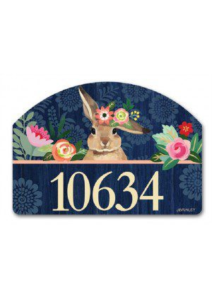 Bunny Bliss Yard Sign | Yard Signs | Address Plaques | Garden Decor