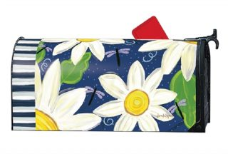 Daisy Blues Mailbox Cover | Decorative Mailwraps | Mailbox Covers