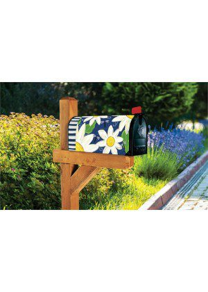Daisy Blues Mailbox Cover | Decorative Mailbox Cover | Mailwraps