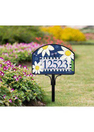Daisy Blues Yard Sign | Yard Signs | Address Plaques | Address Signs
