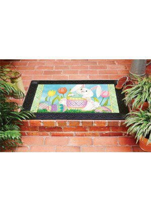 Easter Bunny Here Doormat | Decorative Doormats | Doormats