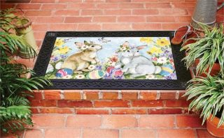 Easter Visit Doormat | Decorative Doormat | Doormats | MatMates