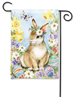 Easter Visit Garden Flag | Easter Flags | Cool Flags | Holiday Flags