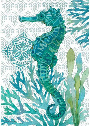 Elegant Seahorse Flag | Summer Flags | Cool Flags | Beach Flags | Flags