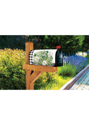 Farmhouse Daisies Mailbox Cover | Decorative Mailbox Cover | Mailwraps