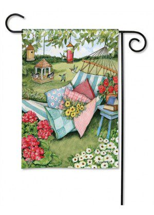 Garden Hammock Garden Flag | Floral Flags | Spring Flag | Garden Flags