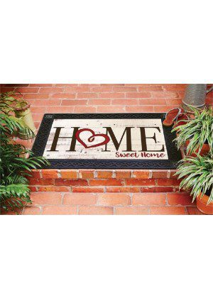 Heart Hello Doormat | Decorative Doormats | Doormats | MatMates