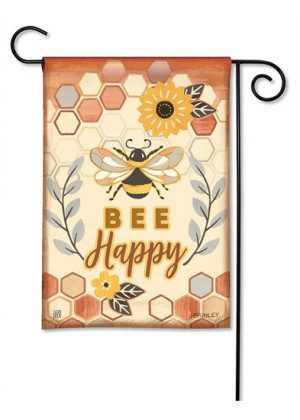 Honey & Hive Garden Flag | Spring Flags | Inspirational Flags | Yard Flags
