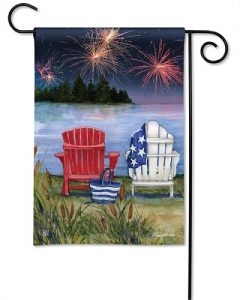Lake View Garden Flag | Patriotic Flags | 4th of July Flags | Summer Flags