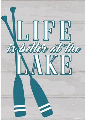 Life at the Lake Flag | Summer Flags | Two Sided Flags | Lake Flags