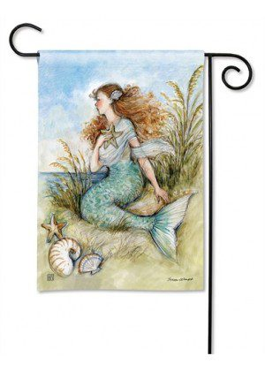 Mermaid Song Garden Flag | Yard Flags | Summer Flags | Nautical Flags