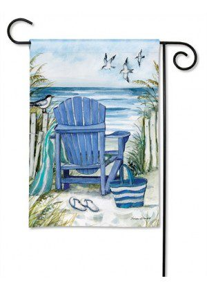 Ocean View Garden Flag | Spring Flags | Summer Flag | Beach Flag