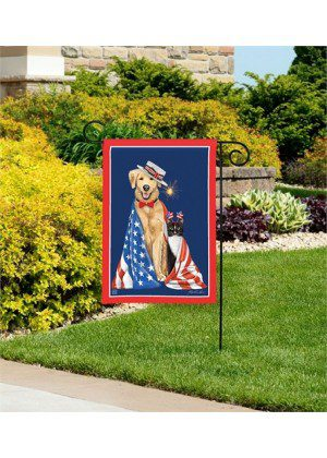 Pets on Parade Garden Flag | Spring Flags | Patriotic Flags | Yard Flags