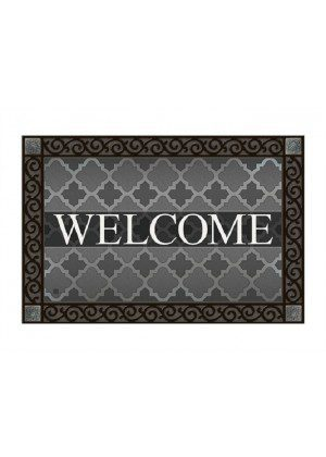 Quatrefoil Welcome Doormat | Decorative Doormat | Doormats | MatMates
