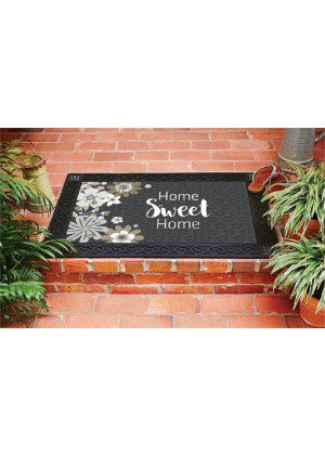 Simply Floral Home Doormat | Decorative Doormat | Doormats | MatMates
