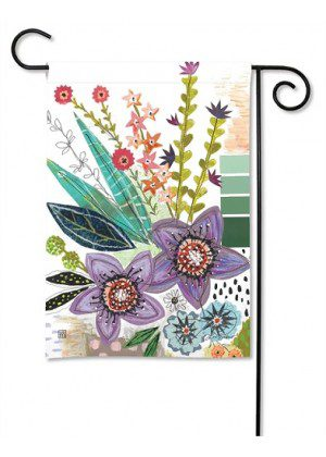 Spring Snippets Garden Flag   Floral Flags   Spring Flags   Yard Flags