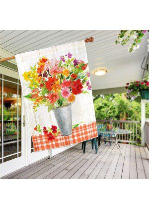 Summer Mix House Flag | Summer Flags | Floral Flags | House Flags